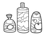 <span class='hidden-xs'>Coloriage de </span>3 savons de bain à colorier