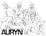 <span class='hidden-xs'>Coloriage de </span>Auryn Boyband à colorier