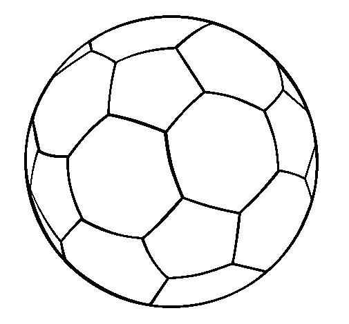 Coloriage de ballon de football ii pour colorier - Ballon coloriage ...