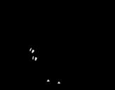 <span class='hidden-xs'>Coloriage de </span>Bébé vélociraptor à colorier