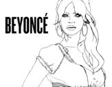 <span class='hidden-xs'>Coloriage de </span>Beyoncé B-Day à colorier
