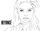 <span class='hidden-xs'>Coloriage de </span>Beyoncé I am Sasha Fierce à colorier