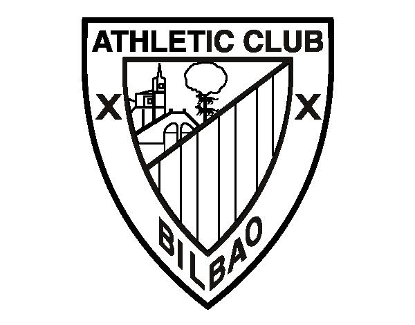 Assez Coloriage de Blason du Athletic Bilbao pour Colorier - Coloritou.com CF83