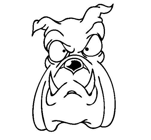 Coloriage de Bulldog II pour Colorier