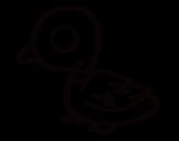 Dibujo de Canard de rivière