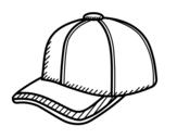 <span class='hidden-xs'>Coloriage de </span>Chapeau sportive à colorier