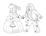 Dibujo de Comte et comtesse