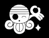 <span class='hidden-xs'>Coloriage de </span>Drapeau de Nami à colorier
