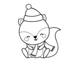 Dibujo de Écureuil chaud