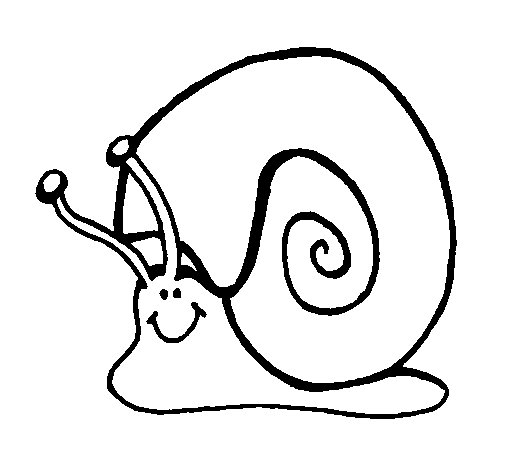 Coloriage de Escargot 1 pour Colorier