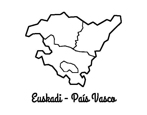Coloriage de Euskadi  pour Colorier
