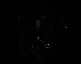 <span class='hidden-xs'>Coloriage de </span>Fleur de Brugmansia à colorier