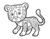 Dibujo de Guépard jeune