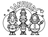 Dibujo de Janvier