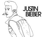 <span class='hidden-xs'>Coloriage de </span>Justin Bieber cantando à colorier