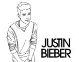<span class='hidden-xs'>Coloriage de </span>Justin Bieber à colorier