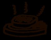<span class='hidden-xs'>Coloriage de </span>La viande grillée à colorier