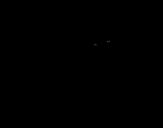 <span class='hidden-xs'>Coloriage de </span>Lapin astronaute à colorier