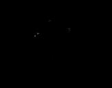 Dibujo de Lapin de Pâques avec l'oeuf