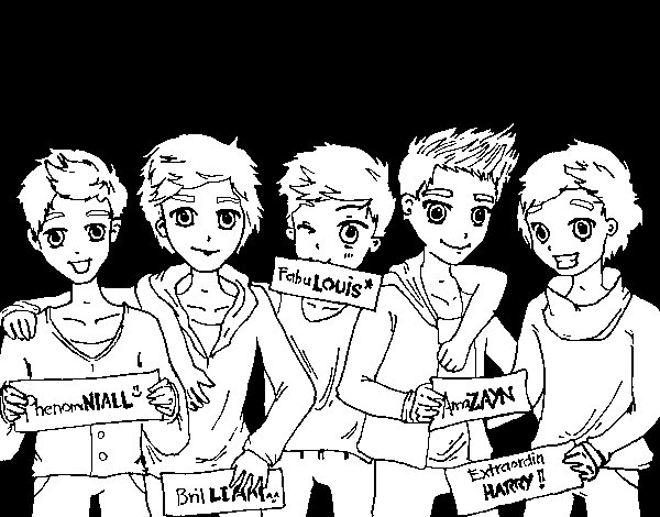 Kleurplaten One Direction Niall.Niall Horan Kleurplaat Leuk Voor Kids One Direction Kleurplaten