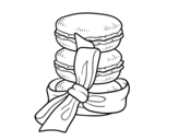 <span class='hidden-xs'>Coloriage de </span>Macarons à colorier