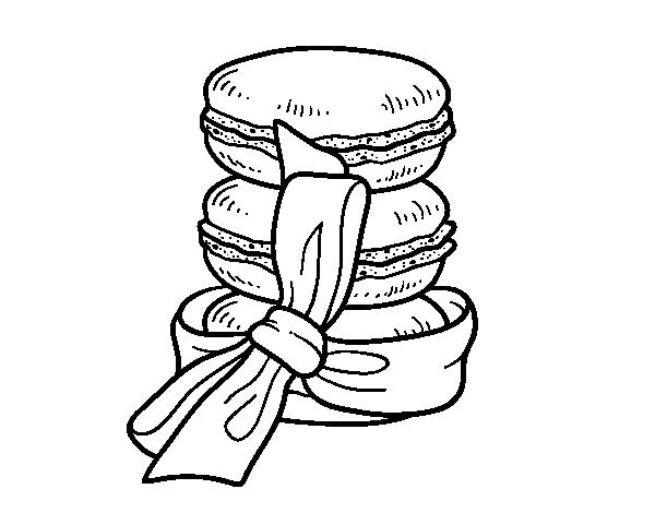 Coloriage De Macarons Pour Colorier Coloritou Com