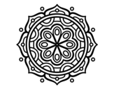 <span class='hidden-xs'>Coloriage de </span>Mandala à méditer à colorier