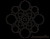 <span class='hidden-xs'>Coloriage de </span>Mandala avec le cycle à colorier