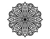 <span class='hidden-xs'>Coloriage de </span>Mandala pour la concentración à colorier