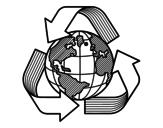 <span class='hidden-xs'>Coloriage de </span>Monde de recyclage à colorier