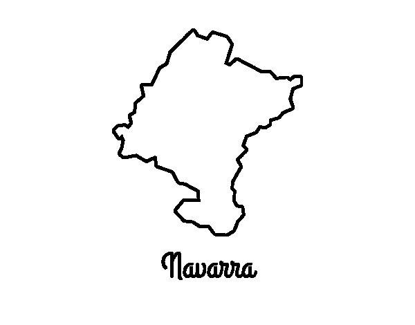 Coloriage de Navarra pour Colorier