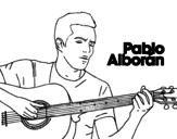 <span class='hidden-xs'>Coloriage de </span>Pablo Alborán - Solamente tú à colorier