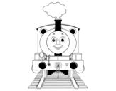<span class='hidden-xs'>Coloriage de </span>Percy la locomotive à colorier