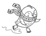 Dibujo de Petit patin à oiseaux
