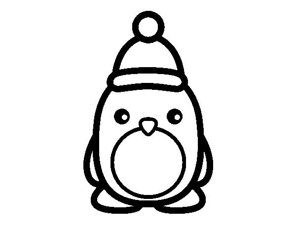 Coloriage de pingouin de no l pour colorier - Coloriage pinguoin ...