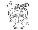 Dibujo de Potion d'amour