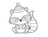 Dibujo de Raton laveur chaud
