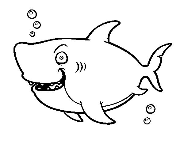Coloriage de requin baleine pour colorier - Coloriage de requin baleine ...