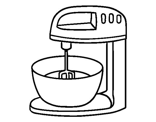 coloriage de robot p tisserie pour colorier. Black Bedroom Furniture Sets. Home Design Ideas