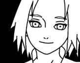 <span class='hidden-xs'>Coloriage de </span>Sakura Haruno red à colorier