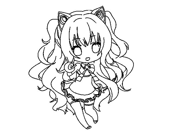 vocaloid seeu chibi coloring pages - photo#5