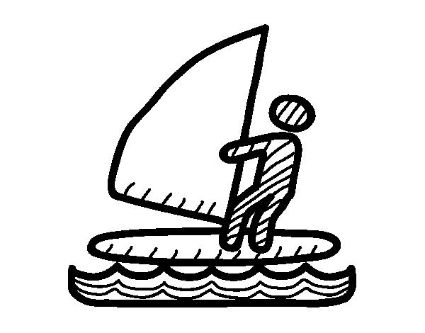 Coloriage de Signaux de planche à voile pour Colorier ...