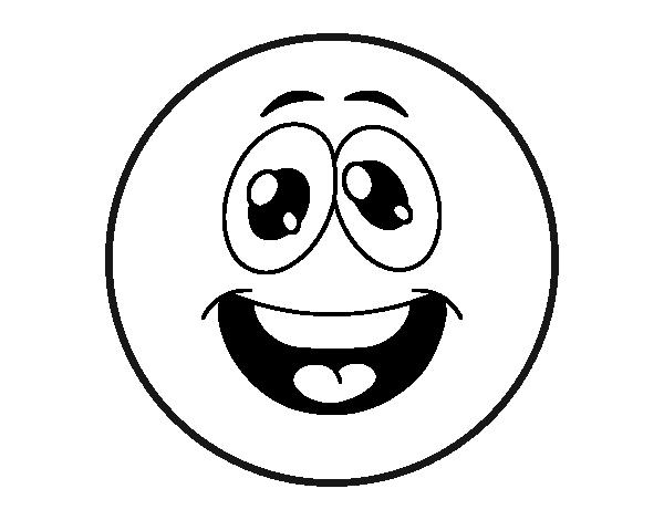 Coloriage de smiley dr le pour colorier - Coloriage drole a imprimer ...