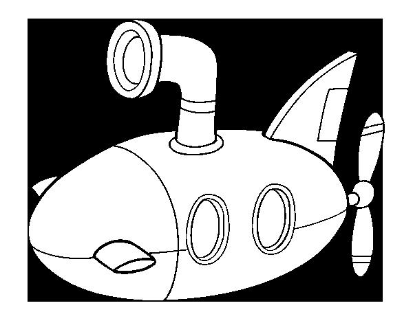 Coloriage de Sous-marin pour Colorier - Coloritou.com