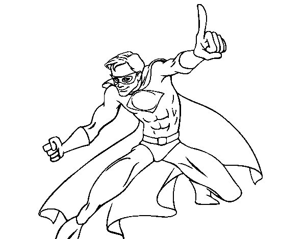 Coloriage de super gar on pour colorier - Coloriage de garcon ...