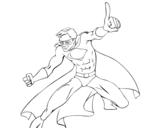 <span class='hidden-xs'>Coloriage de </span>Super garçon à colorier
