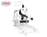 <span class='hidden-xs'>Coloriage de </span>Thomas en cours à colorier