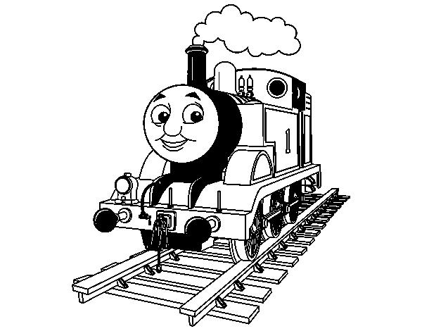 Coloriage de thomas la locomotive pour colorier - Coloriage thomas ...