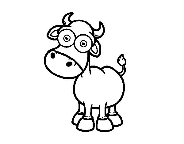 Coloriage de toro de lidia pour colorier - Dessin de toro ...