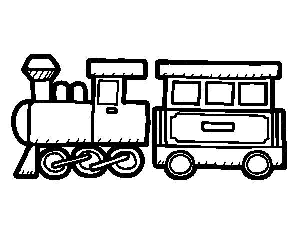 Coloriage de train all gre pour colorier - Train coloriage ...